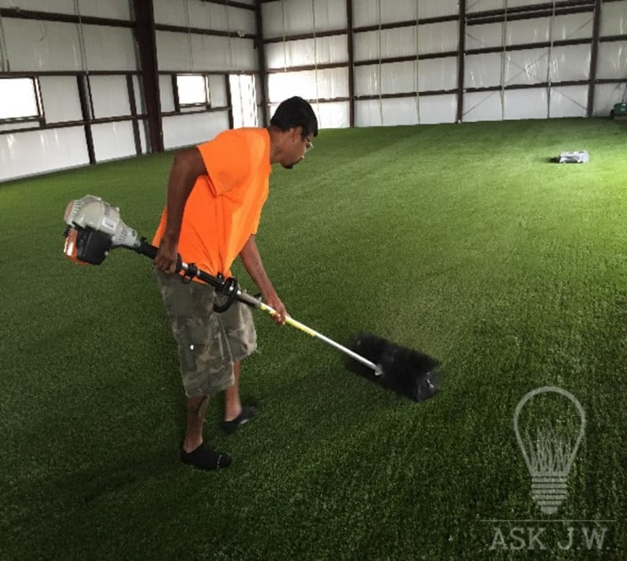 The Importance of Power Brooms - Synthetic Grass Warehouse