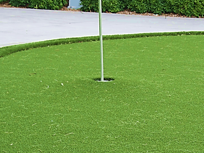Installing Putting Green Cups Artificial Turf Sgw