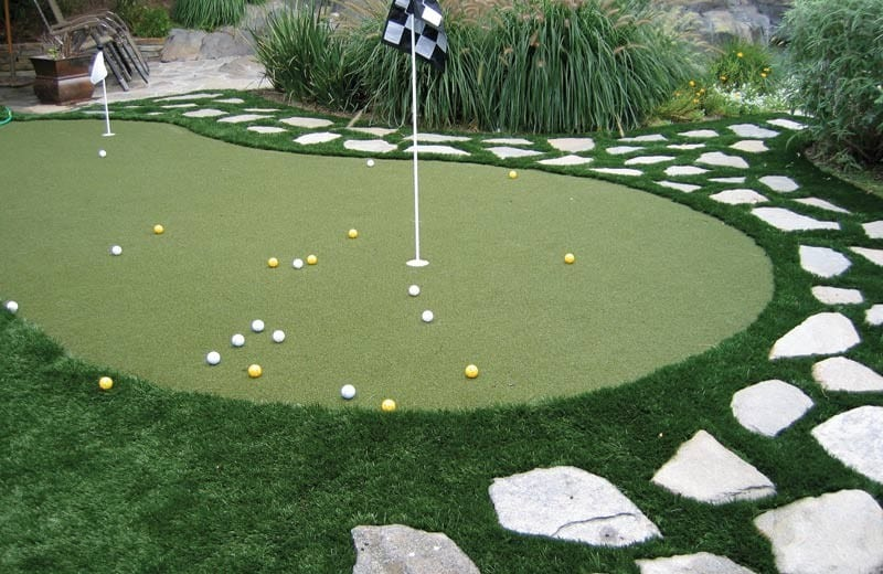 Putting Green Installations Galleries Synthetic Grass