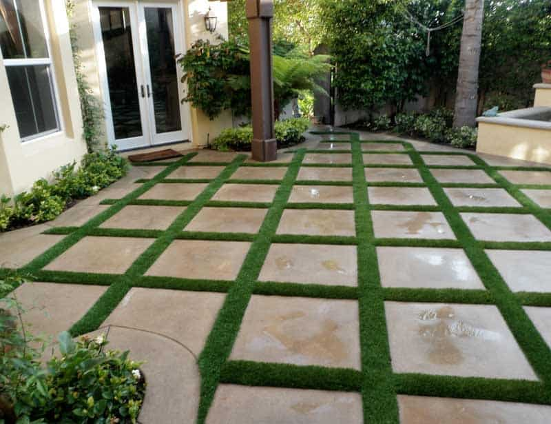 Residential Artificial Grass Installations Galleries