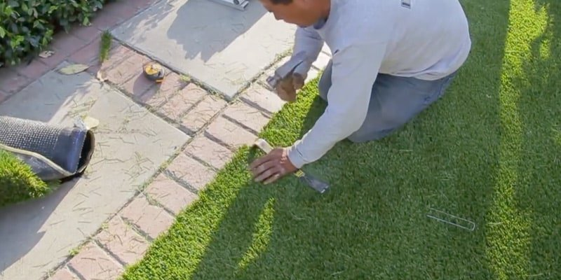 How To Install Artificial Grass Sgw