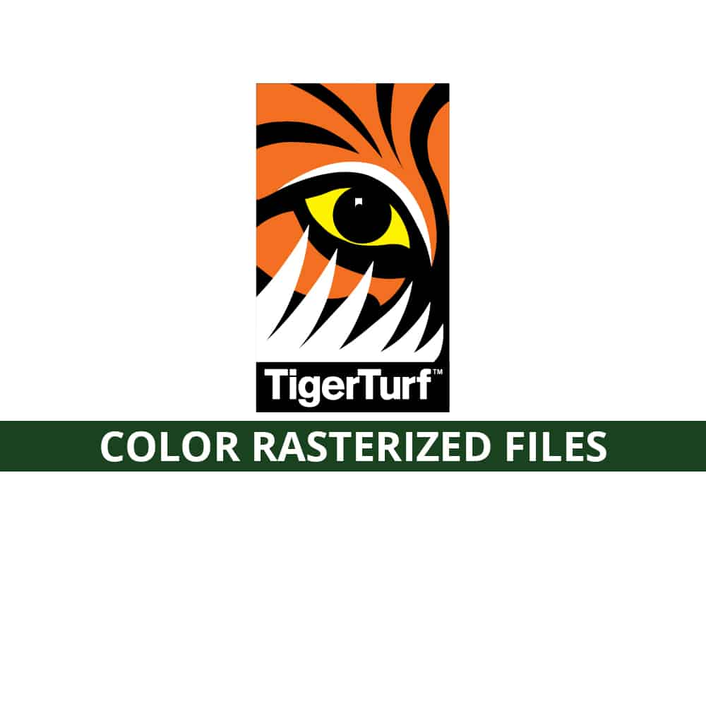 Tiger Color Rasterized Files