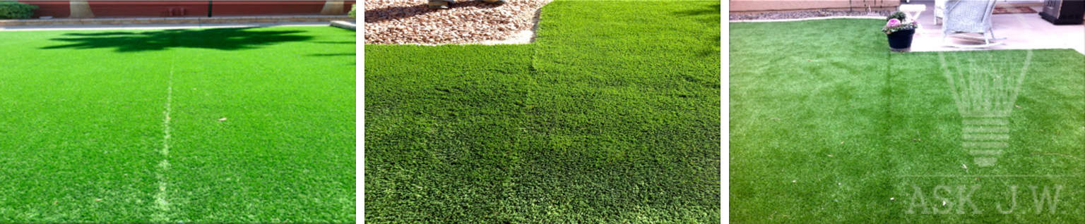 How to avoid visible seems in artificial grass installations sgw the picture above demonstrates how one piece of synthetic turf was cut by using two methods one method was a superseam cut and the other a straight seam solutioingenieria Choice Image
