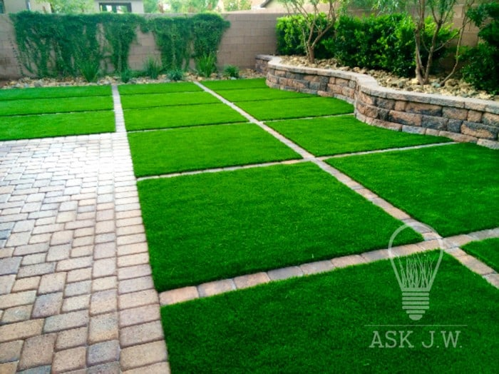 Ask Jw Tucking Synthetic Turf Edges Synthetic Grass