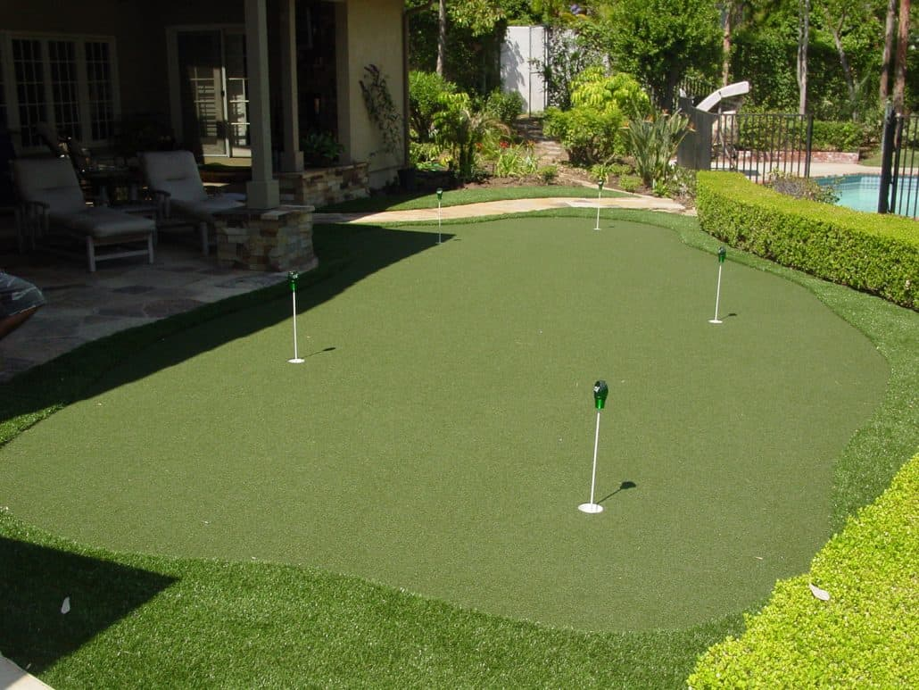 Artificial Putting Greens Supplied & Installed by Nomow |Putting Green Grass