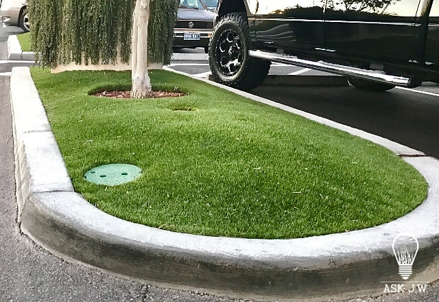 455e0d29a07 Through the years I have noticed synthetic turf installations having  depressed areas around Utility and Irrigation Boxes. Synthetic turf  installers have ...