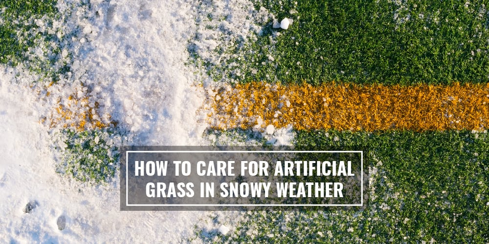 How To Care For Artificial Grass In Snowy Weather